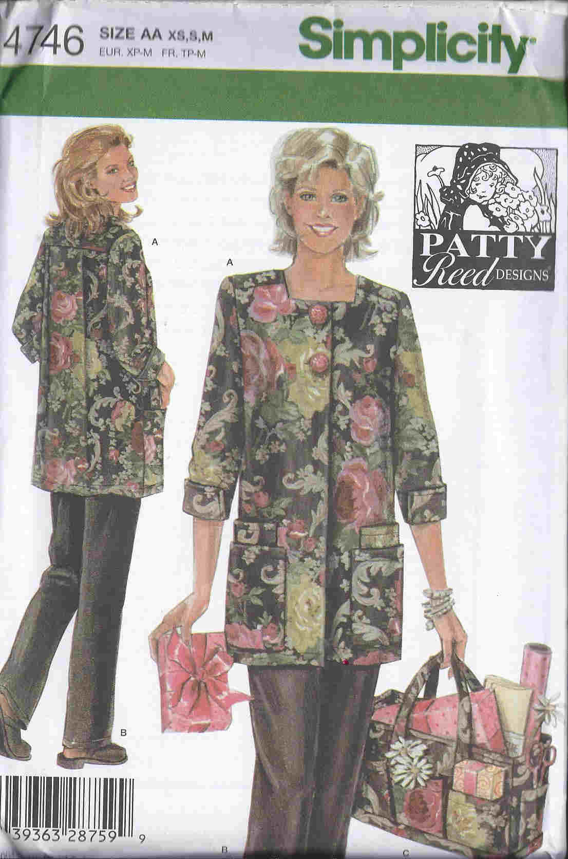 Hobby Coat sewing pattern