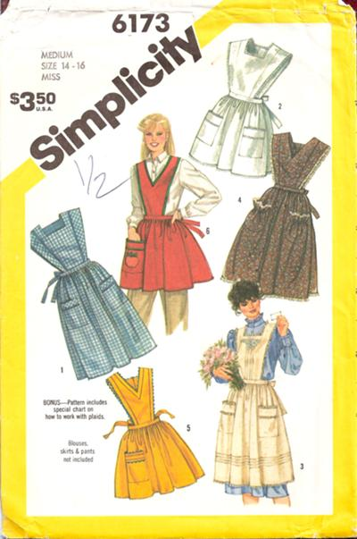 apron sewing pattern