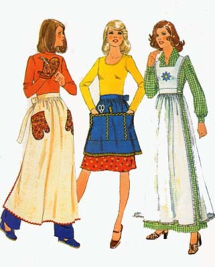 pinafore apron sewing pattern
