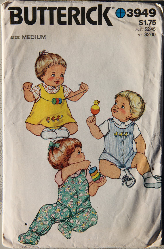 baby jumper overalls shirt sewing pattern