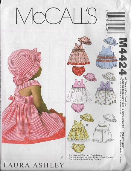 baby nightgown shirt dress booties mittens sewing pattern