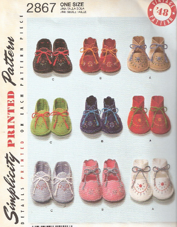 baby booties sewing pattern