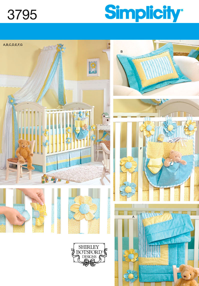baby quilt pillow canopy sewing pattern