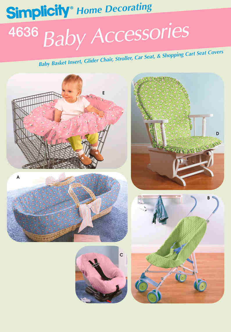 baby seat covers sewing pattern