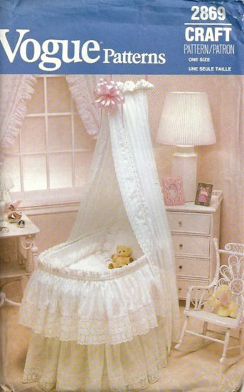 bassinet sewing pattern