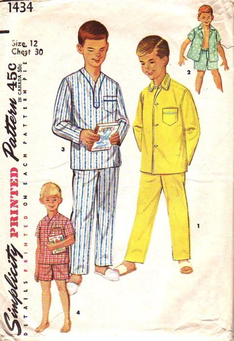 pajamas sewing pattern