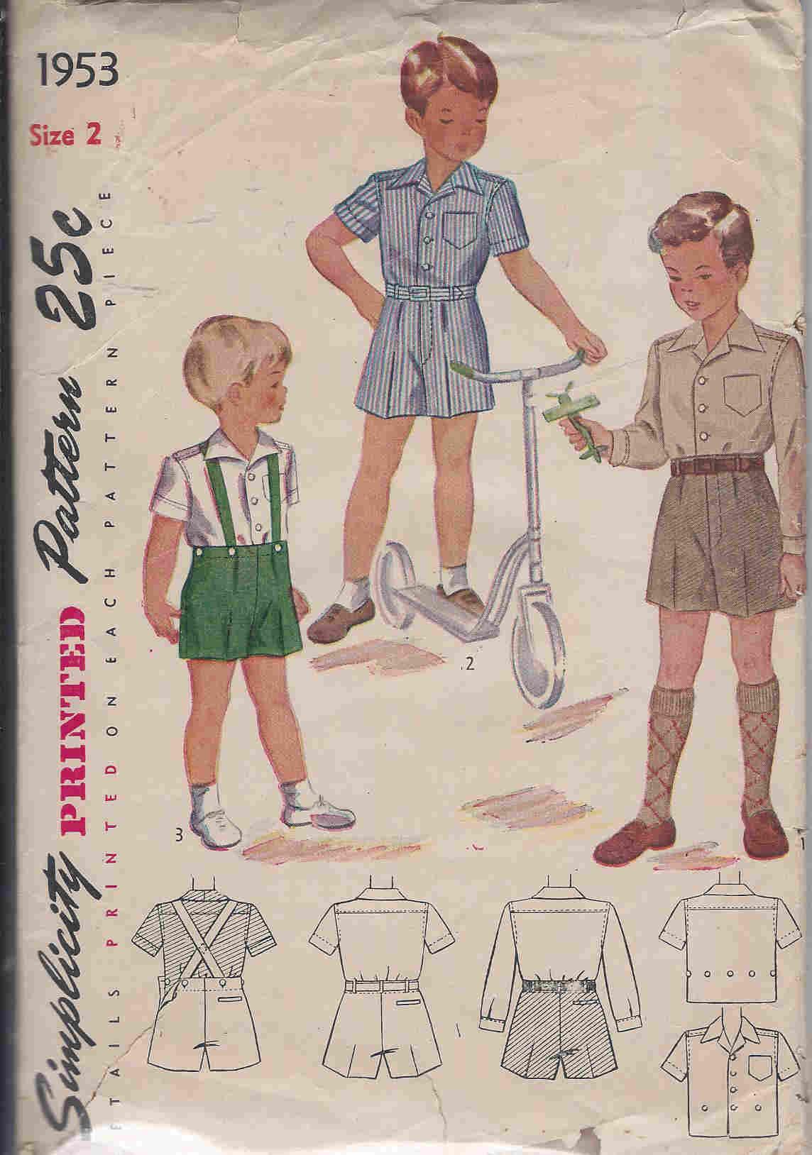 shirt trousers sewing pattern