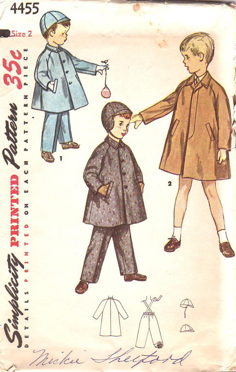 coat hat leggings sewing pattern