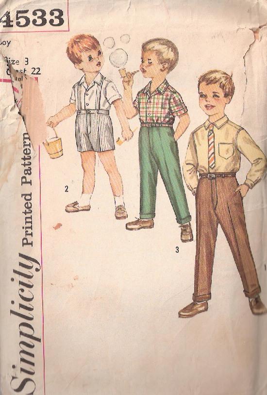 shirt shorts pants sewing pattern