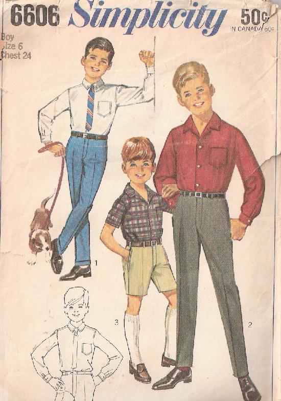 pants shirt sewing pattern