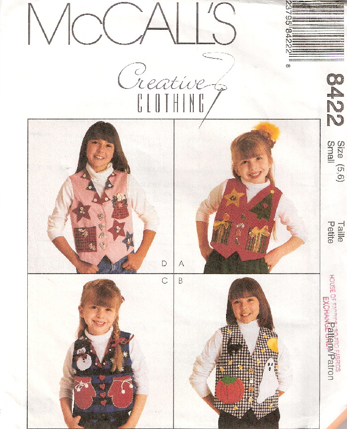 vest sewing pattern