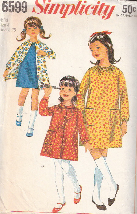 dress smock sewing pattern