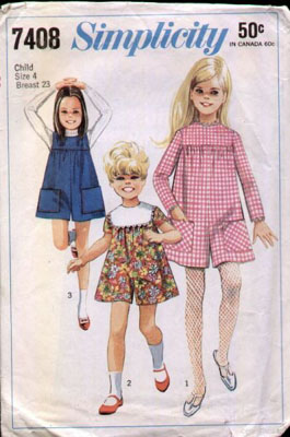 pantdress sewing pattern