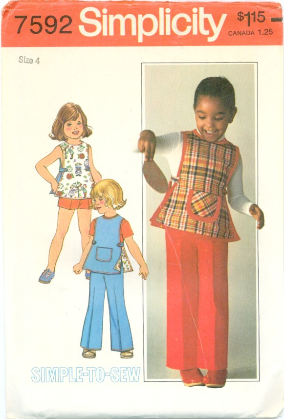 pants shorts tunic sewing pattern
