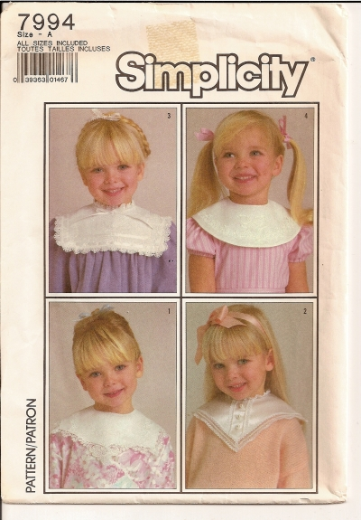 collars sewing pattern