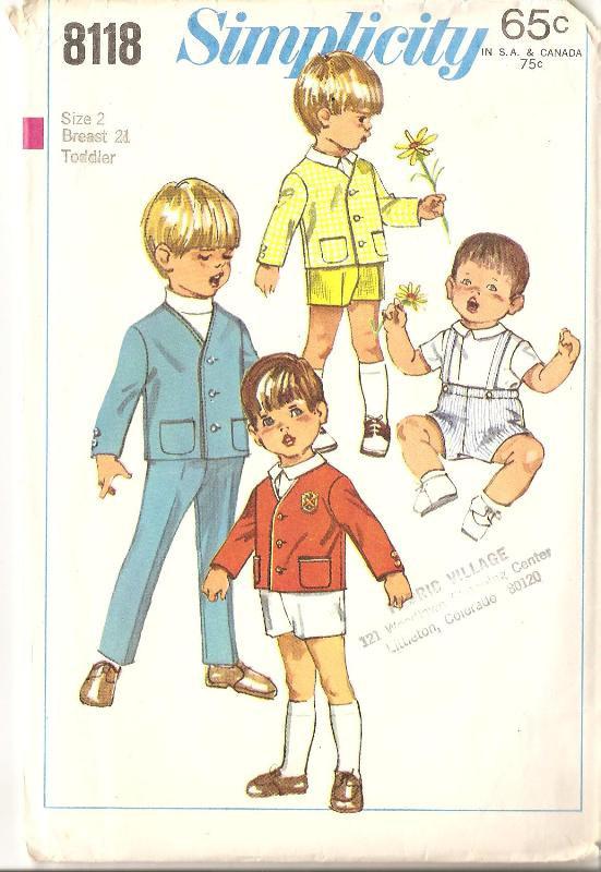 jacket pants sewing pattern