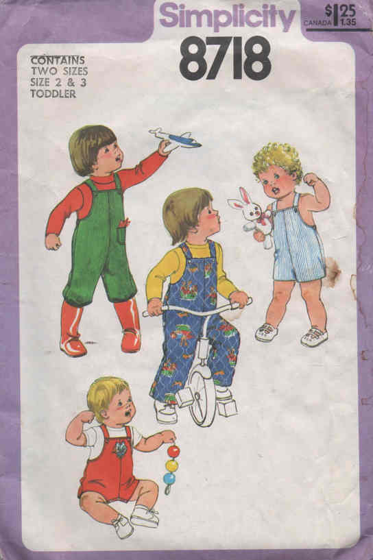 overalls sewing pattern