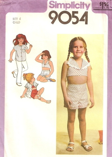 halter shirt pants shorts sewing pattern