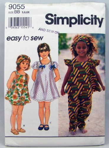 bloomers dress top sewing pattern
