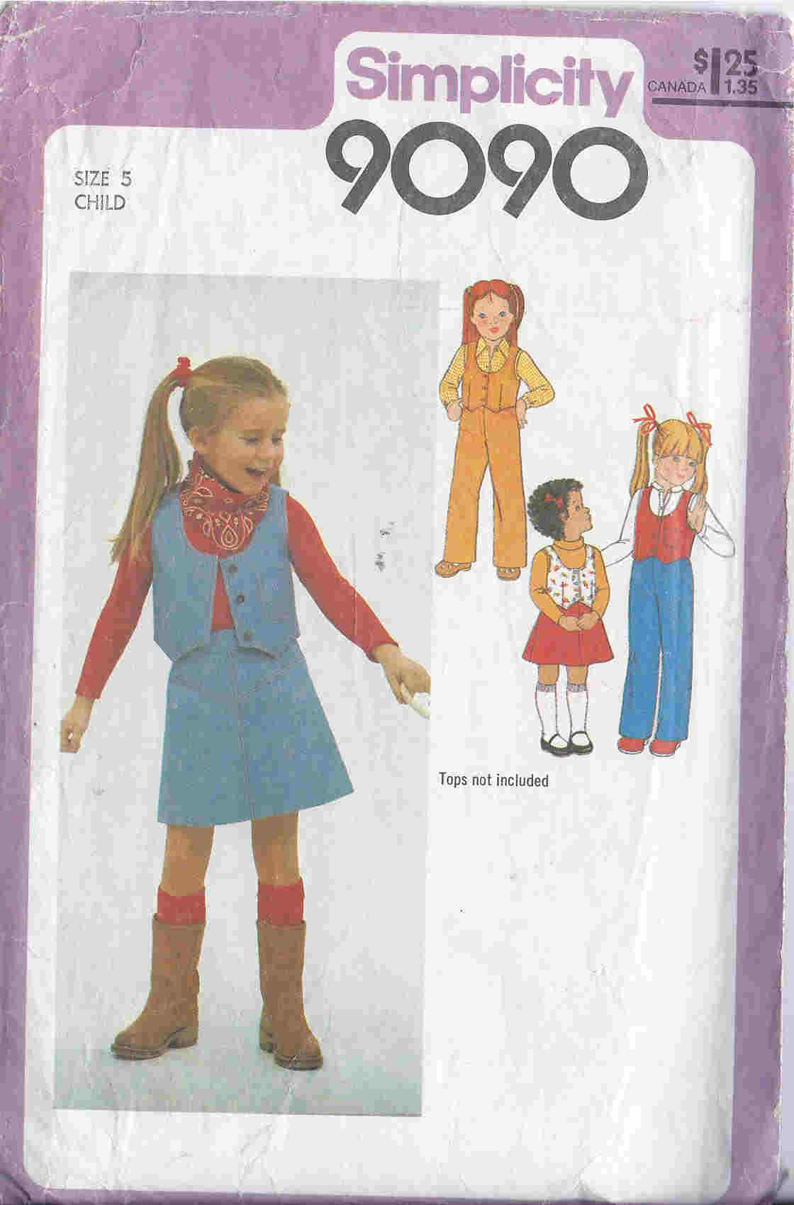 skirt pants vest sewing pattern