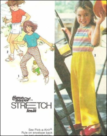 top pants shorts sewing pattern