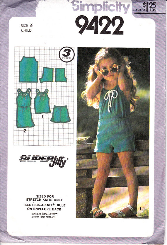 jiffy dress top shorts sewing pattern