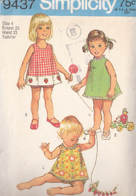 top bloomers sewing pattern