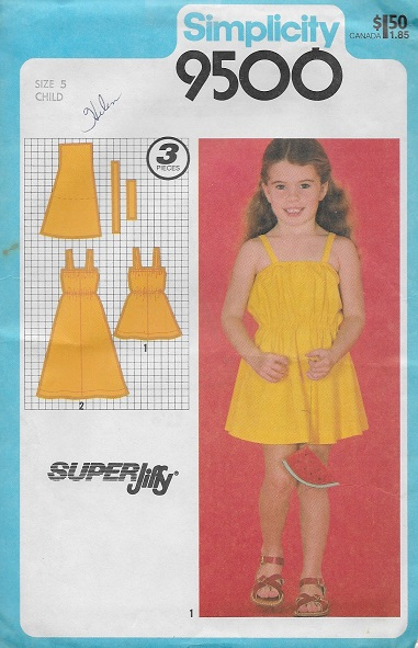 super jiffy sundress sewing pattern