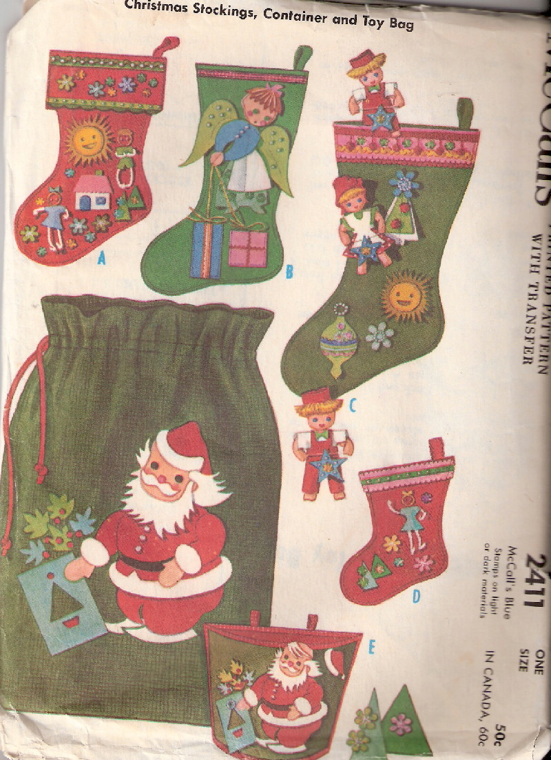christmas stockings sewing pattern