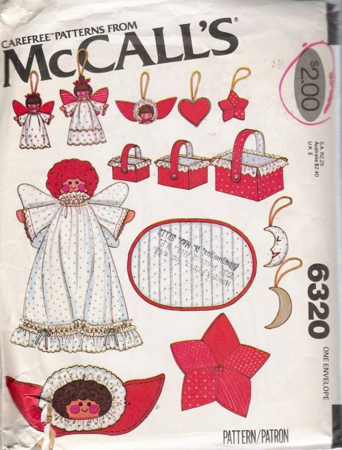 christmas decorations sewing pattern