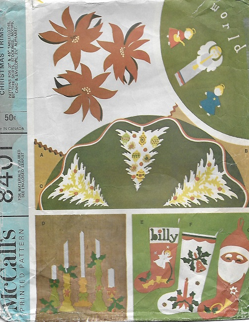christmas stockings tree skirt sewing pattern