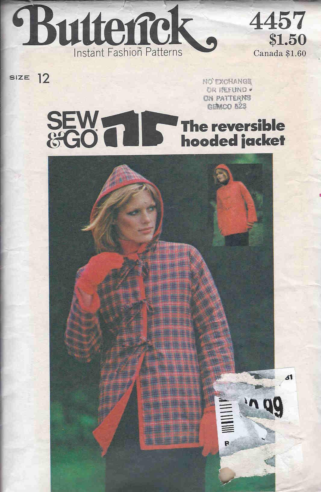jacket sewing pattern