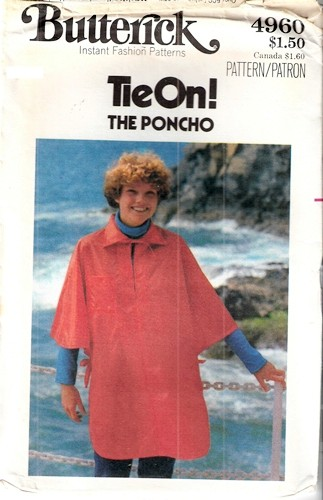 poncho sewing pattern