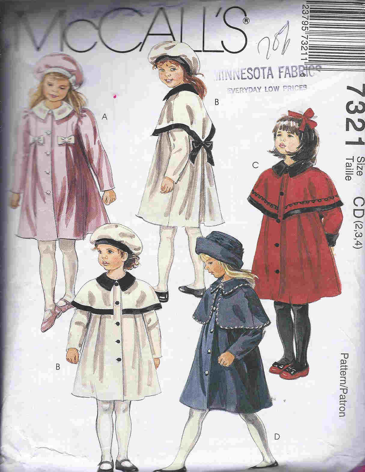 coat hat sewing pattern