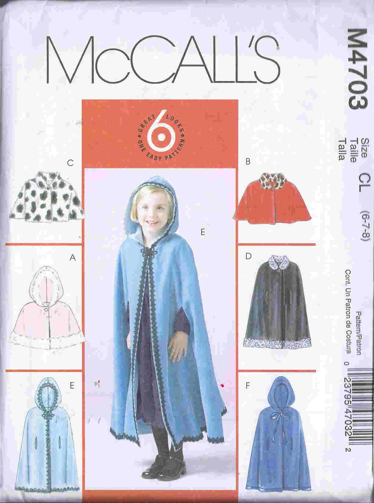 capelets cape sewing pattern