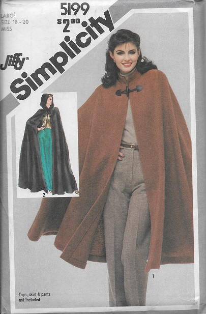 DellaJane Sewing Patterns For Coats, Jackets, Capes & Ponchos