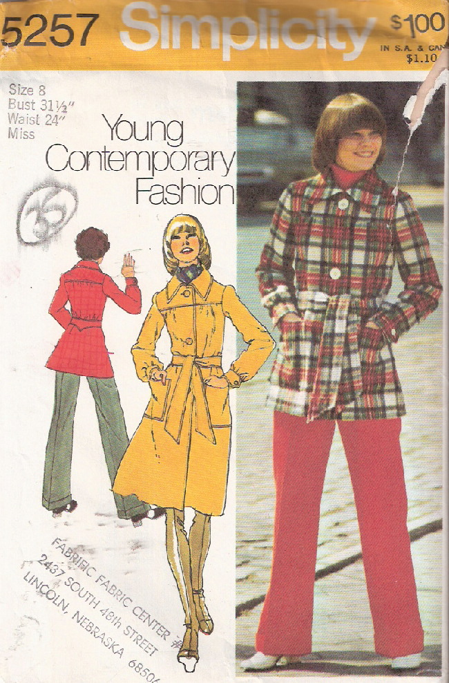 coat sewing pattern