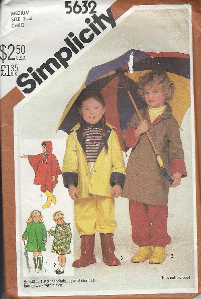 raincoat poncho sewing pattern