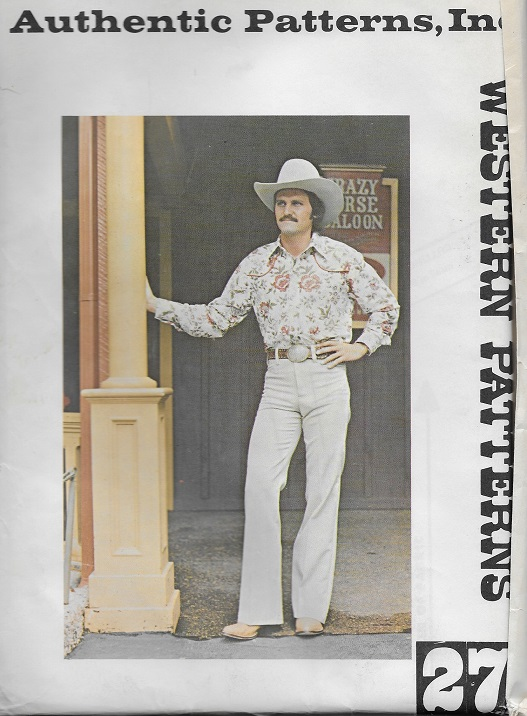 authentic western yoke shirt sewing pattern