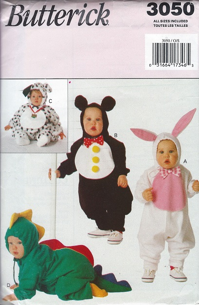 animal costume sewing pattern