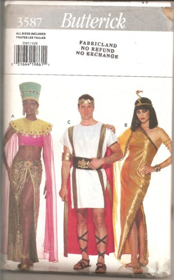 Cleopatra genie costume sewing pattern & DellaJane Sewing Patterns: Costume Sewing Patterns Page 5