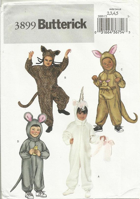 animal costume sewing pattern