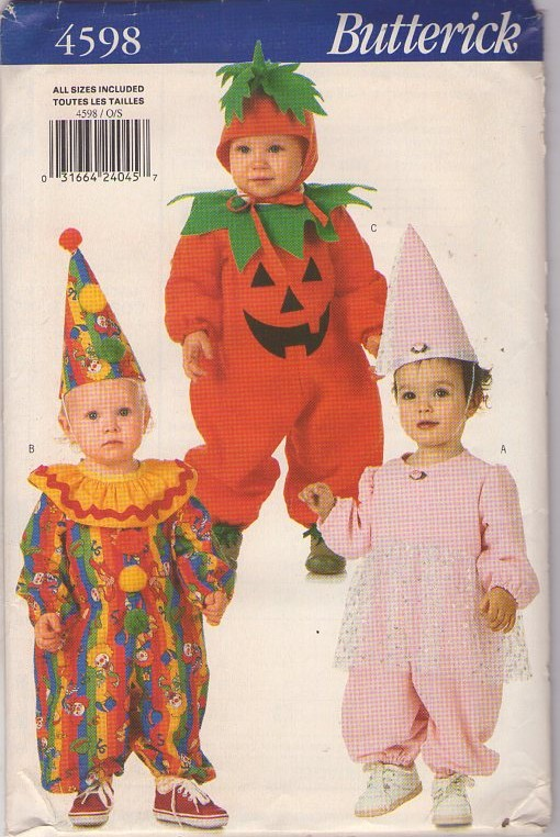 fairy clown costume sewing pattern