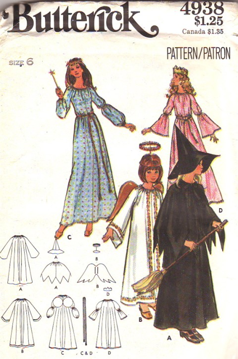 fairy godmother princess costume sewing pattern