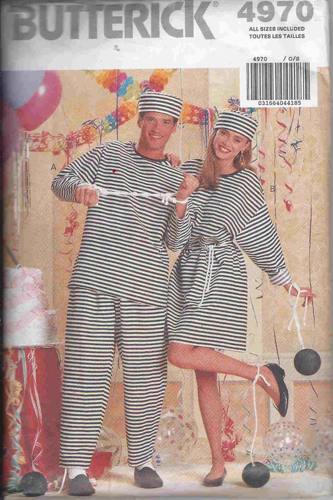 jailbird costume sewing pattern