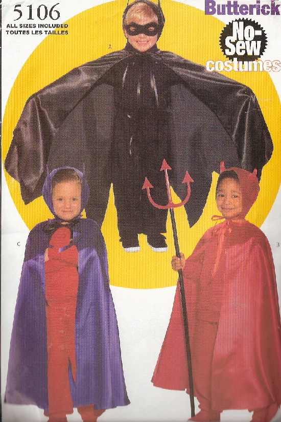 superheroes costume sewing pattern