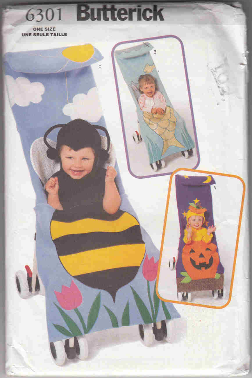 stroller costume sewing pattern
