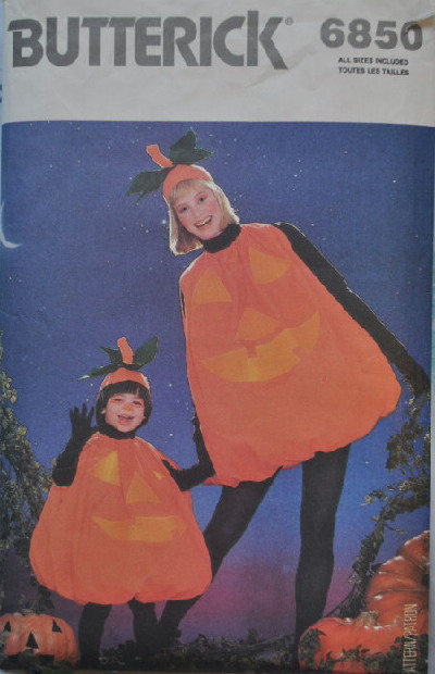pumpkin costume sewing pattern