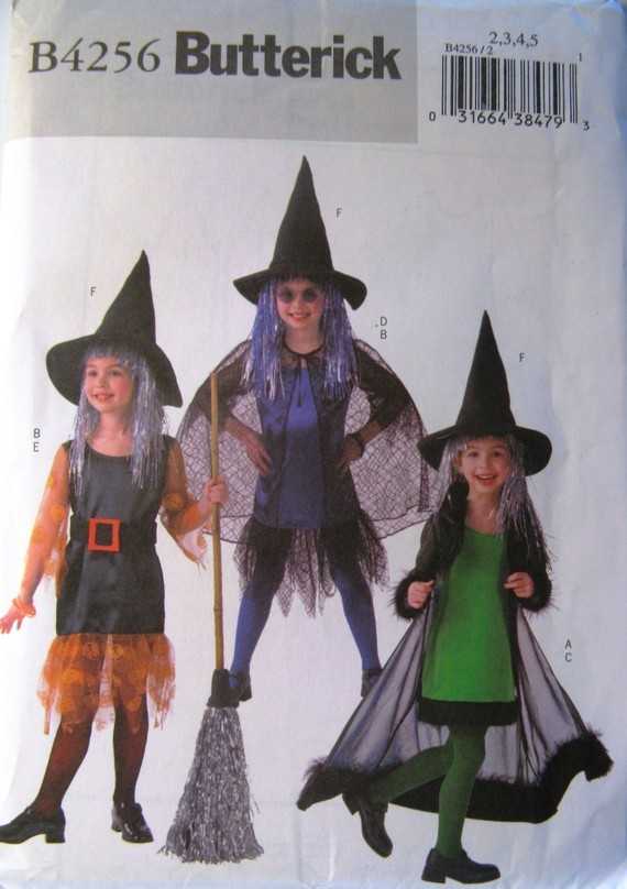witch costume sewing pattern
