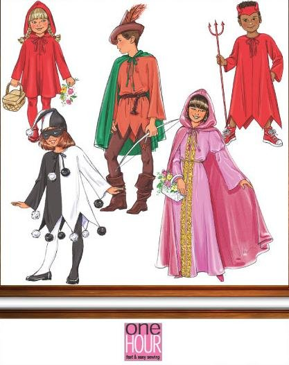 robin red riding hood costume sewing pattern